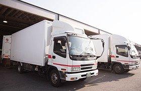 「実際のトラックや営業所を見学することができます!」イメージ画像